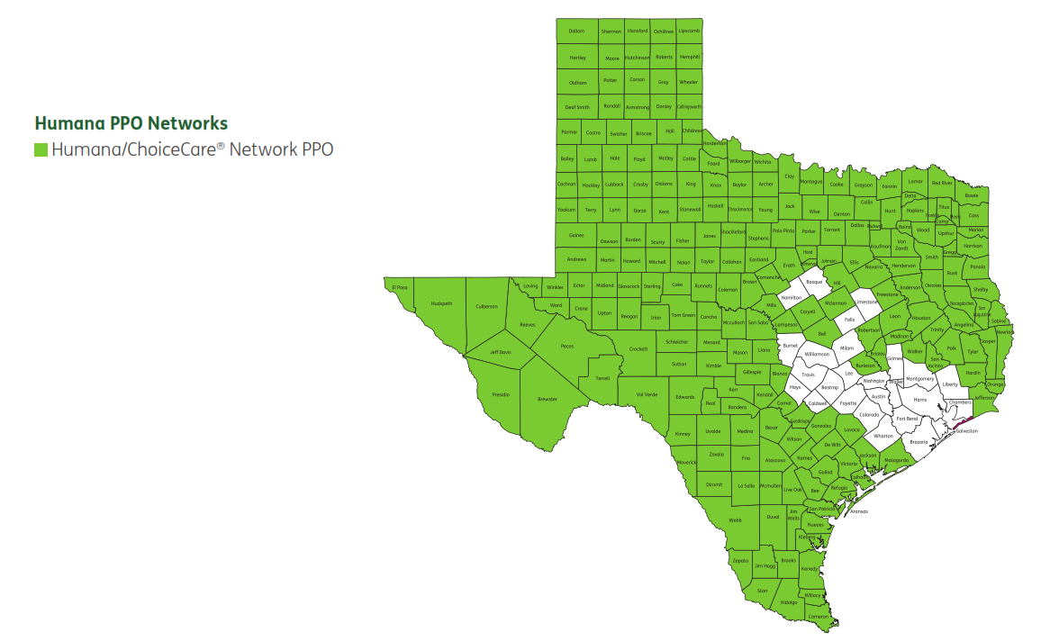 Humana PPO network coverage