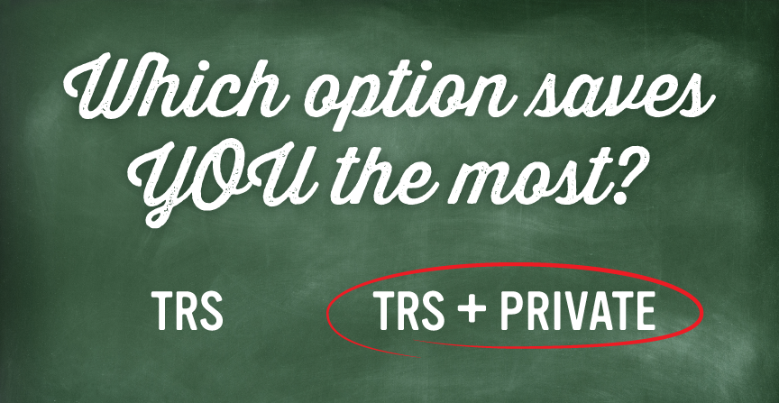 TRS enrollment right choice to save - July 2016