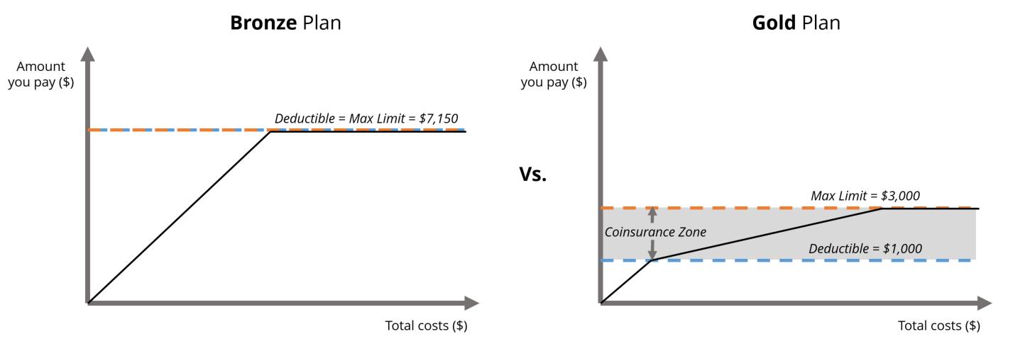 bronze-vs-gold-plan-structure