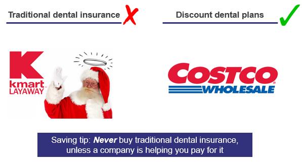 dental insurance comparison without blurb