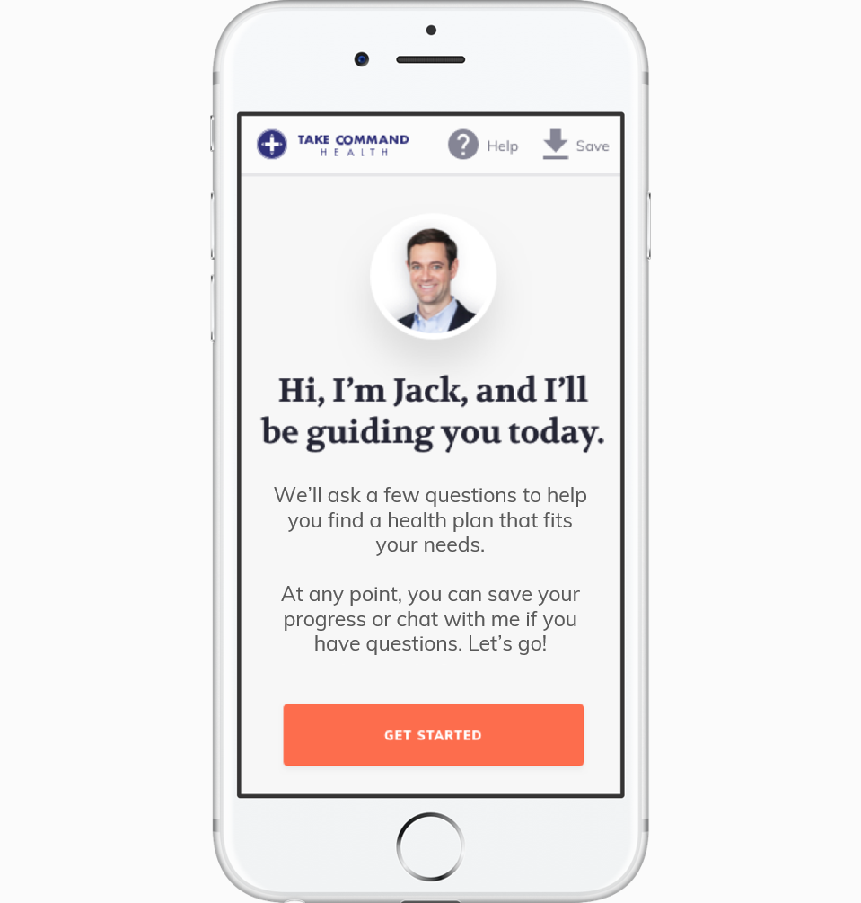 Individual insurance guide - mobile preview with spacers large
