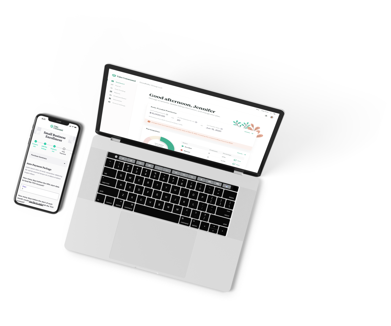New Brand product screen homepage