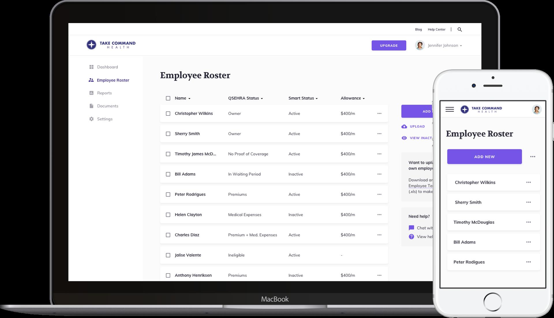 Platform employee management